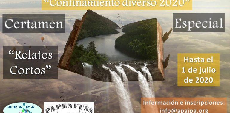 """Certamen Especial """"CONFINAMIENTO DIVERSO"""" 2020 APAIPA- PAPENFUSS"""